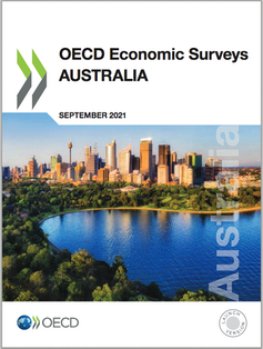 OECD Economic Surveys: Australia, 2021 report cover
